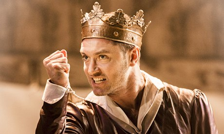 Jude Law as Henry V at the Noel Coward theatre, London